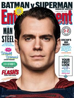 Batman v Superman - okładka z Supermanem