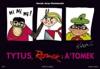 Tytus, Romek i A'Tomek. Księga I - okładka