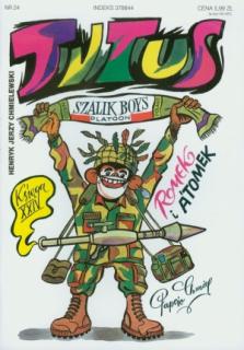 Tytus, Romek i A'Tomek. Księga XXIV: Tytus w NATO - okładka