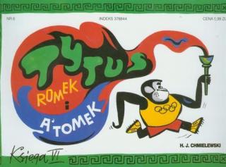 Tytus, Romek i A'Tomek. Księga VI: Tytus olimpijczykiem - okładka