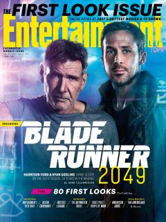 Blade Runner 2049 - okładka magazynu