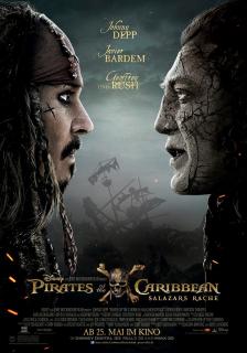 niemiecki plakat piratów z karaibów