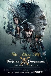 Piraci z Karaibów: Zemsta Salazara - plakat IMAX