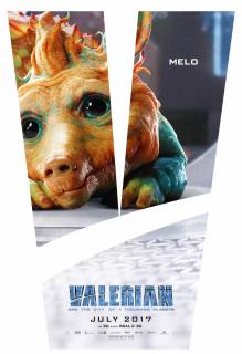 Valerian i miasto tysiąca planet - plakat