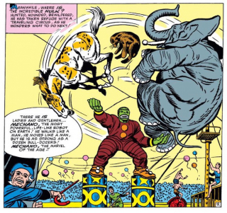 Najdziwniejsze momenty komiksowych Mścicieli - Hulk pracuje w cyrku