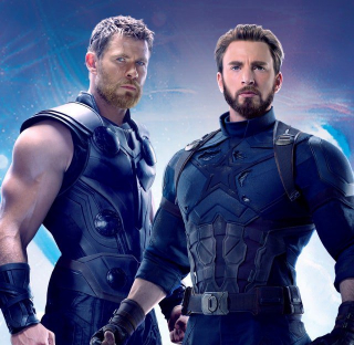 Avengers: Wojna bez granic - baner promocyjny
