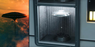 Miasto w Chmurach - odkryto w tle na pokładzie Sokoła Millennium model miejsca, które jak wiemy będzie związane z Lando