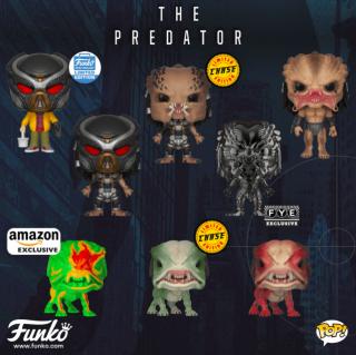 Predator - figurki Funko