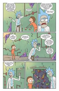 Rick i Morty. Tom 1 - plansza