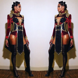 Ciara jako Wakanda