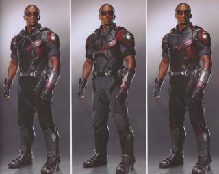 Avengers: Wojna bez granic - szkic koncepcyjny