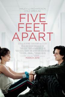 Five Feet Apart - plakat