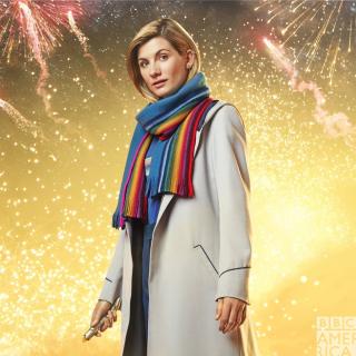 Doktor Who - plakat noworocznego odcinka