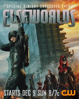 Crossover Arrowverse - plakat