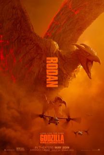 Godzilla 2: Król potworów - plakat
