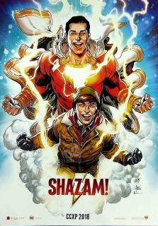 Shazam! - plakat CCXP