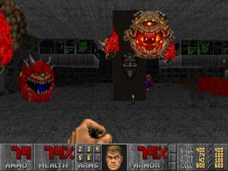 Doom II (1994) - screeny z gry