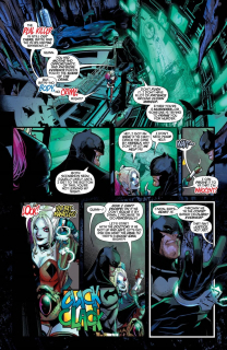 Harley Quinn #58 - plansze