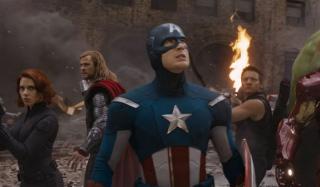 Kapitan Ameryka - Avengers (2012)