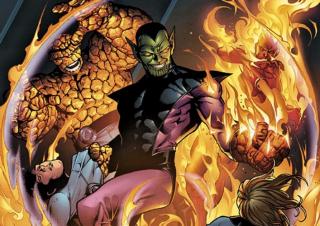 W komiksach Skrulle mierzyli się z niezliczonymi wrogami, ale na tym polu odwiecznym rywalem rasy zawsze będzie Fantastyczna Czwórka. Co ciekawe, Skrulle pojawili się w każdej z animacji poświęconej tej drużynie herosów.