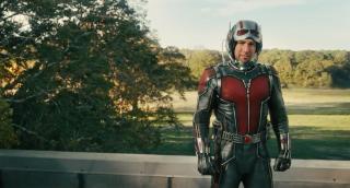 """2015: Rozgrywa się akcja filmu """"Ant-Man"""". Scott Lang zostaje Ant-Manem, Hope van Dyne, córka Hanka Pyma, Wasp. Peter Parker zaczyna działać jako Spider-Man. Pepper rozstaje się z Tonym."""