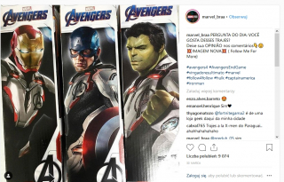 Kapitan Ameryka, Iron Man, Hulk - białe stroje