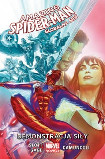 Amazing Spider-Man. Globalna sieć – Demonstracja siły, tom 3 - okładka