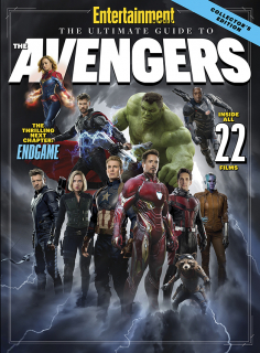 Avengers: Koniec gry - okładka Entertainment Weekly