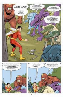 Shazam! Potworne stowarzyszenie zła - plansza