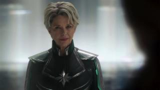 Lata 80.: Uruchomiony zostaje projekt P.E.G.A.S.U.S., który ma na celu zbadanie Kamienia Przestrzeni. Mar-Vell, która porzuciła rasę Kree, działa jako doktor Wendy Lawson w celu pomocy Skrullom.