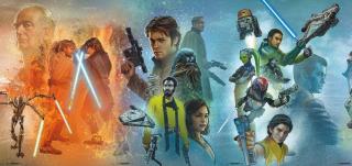 Gwiezdne Wojny - mural