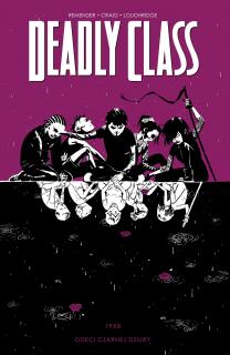Deadly Class, tom 2 - okładka
