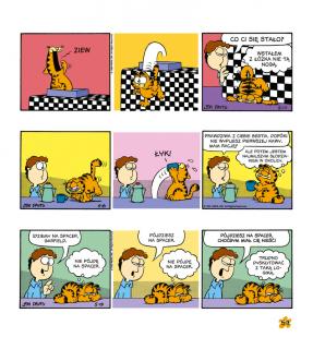 Garfield. Tłusty koci trójpak. Tom 3 - plansza
