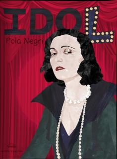 Idol. Pola Negri - okładka