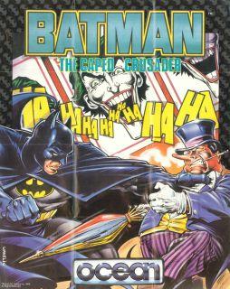 Batman: The Caped Crusader - Amiga, Commodore 64, DOS, ZX Spectrum (1988)