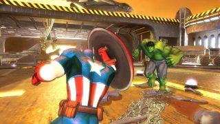 Marvel Avengers: Battle for Earth - Wii U, Xbox 360 (2012)