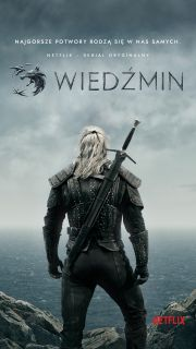 Wiedźmin - polski plakat