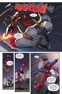 Amazing Spider-Man: Globalna sieć #03: Demonstracja siły - plansza