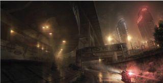 Szkice koncepcyjne z anulowanej gry z serii Batman: Arkham