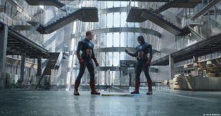 Avengers: Endgame - zdjęcie po nałożeniu efektów specjalnych