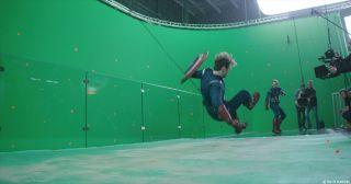 Avengers: Endgame - zdjęcie przed nałożeniem efektów specjalnych