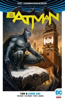 Batman. Zimne dni, tom 8 – polska okładka Batman Warszawa - okładka