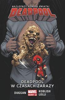 Deadpool – Deadpool w czasach zarazy, tom 6 - okładka