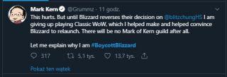 #BoycottBlizzard - reakcje graczy