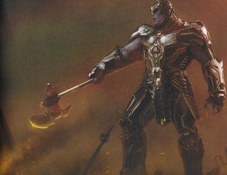 Avengers: Koniec gry - szkice koncepcyjne
