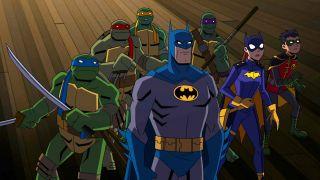 9. Batman kontra Wojownicze Żółwie Ninja