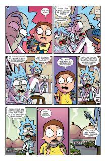 Rick i Morty. Tom 5 - plansza