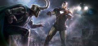 Avengers (2012) - szkic koncepcyjny