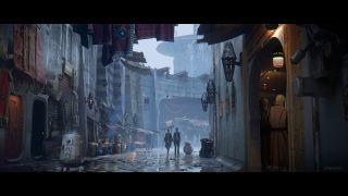 Gwiezdne Wojny: Przebudzenie Mocy - szkic koncepcyjny