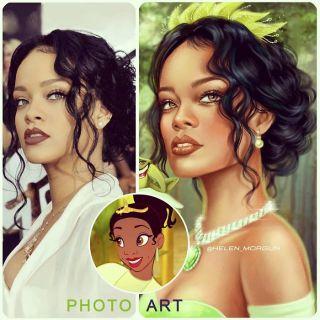 Rihanna jako Tiana